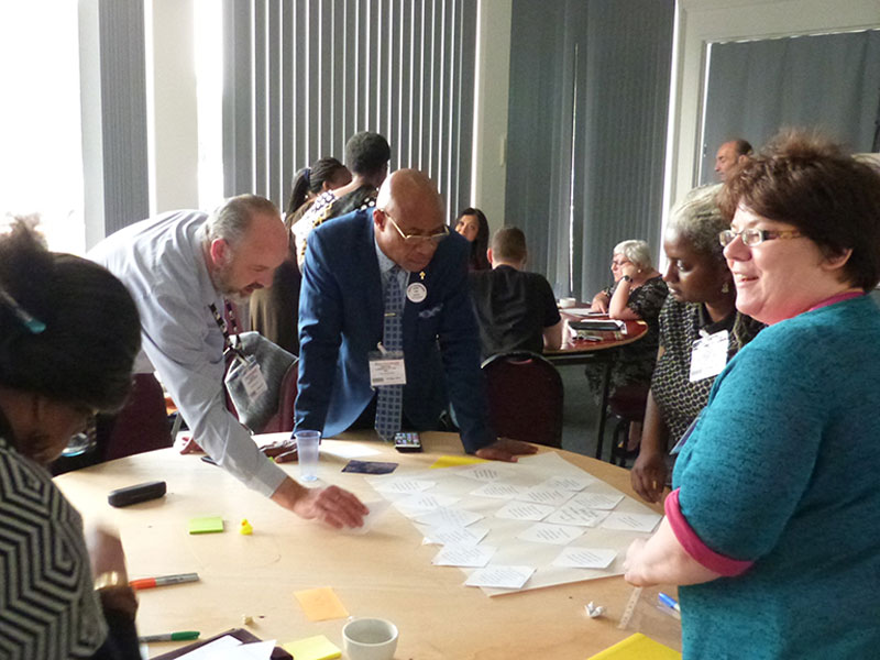 We worked with WSA Community Consultants to develop and pilot a Theory of Change for Grahame Park regeneration involving community groups and stakeholders.