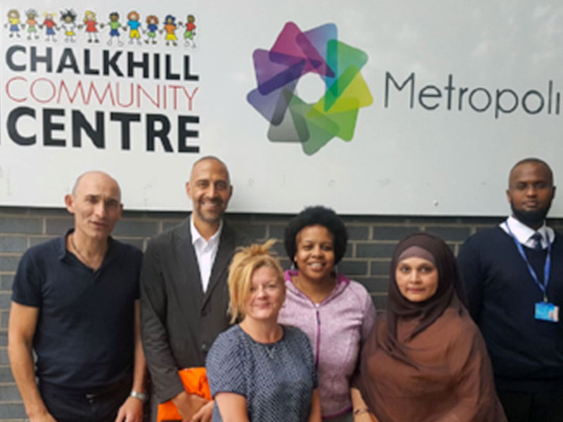 We worked with Chalkhill Community Centre, supporting them through a period of change, helping them to gain new trustees, develop their processes and further their business plan.
